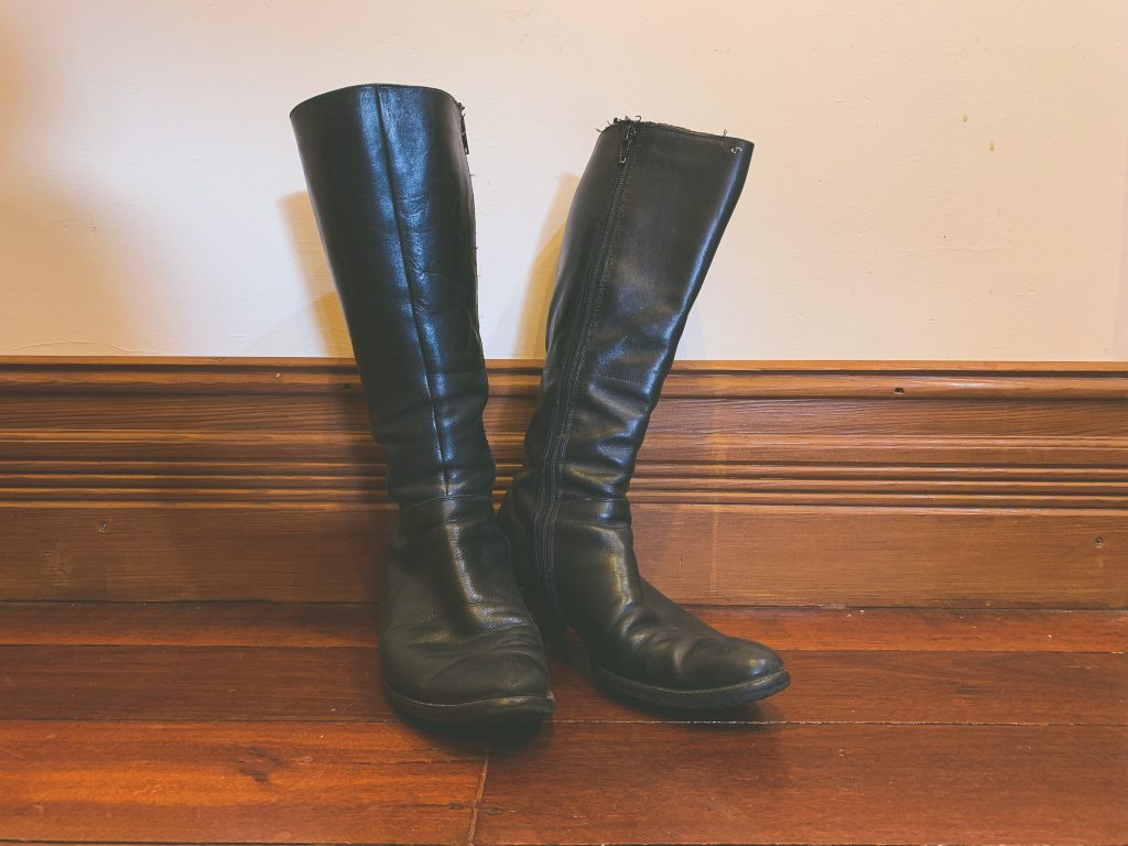 Ecco knee-high boots