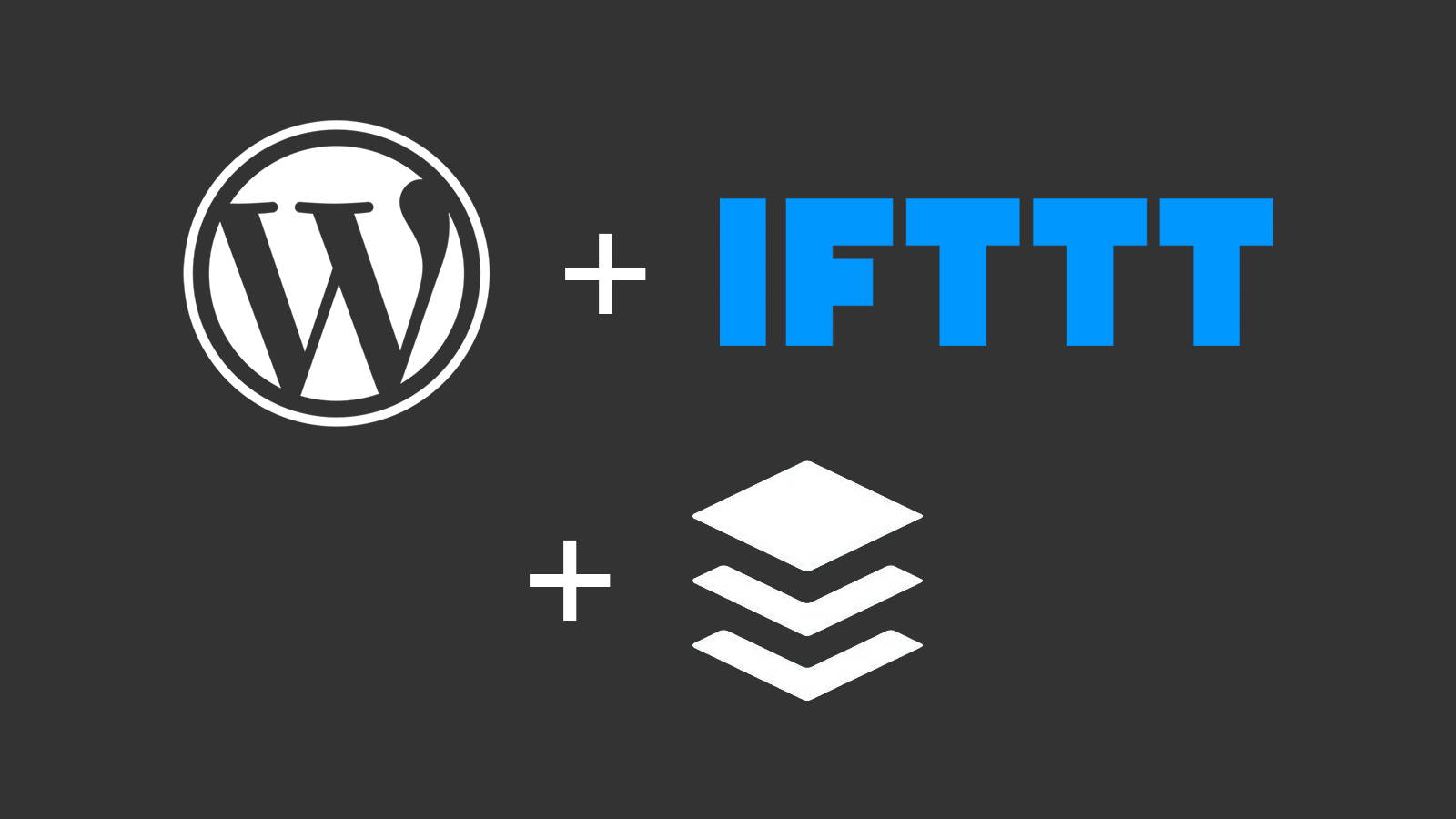 WordPress + IFTTT + Buffer